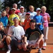 Теннисный лагерь BrilTennis в Чехии группа в Моем Мире.